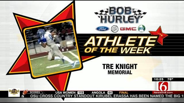 Athlete Of The Week: Memorial's Tre Knight