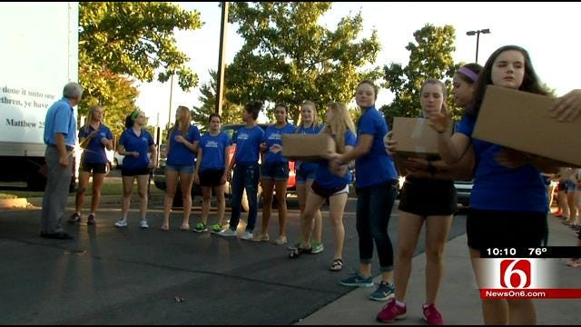 Tyson Foods Donates Over 30,000 Pounds Of Food To Tulsa Food Bank