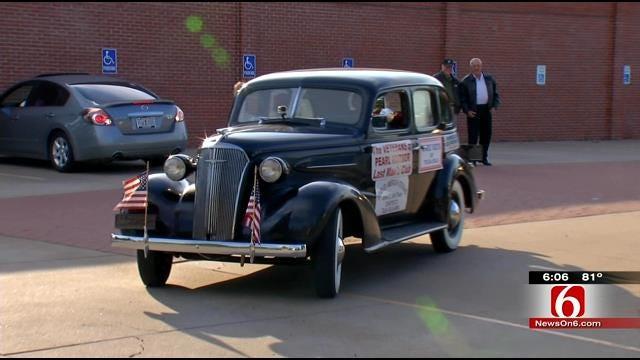 World War II Veteran, Advocate Drive 1937 Chevy From Tulsa To Original Dealer