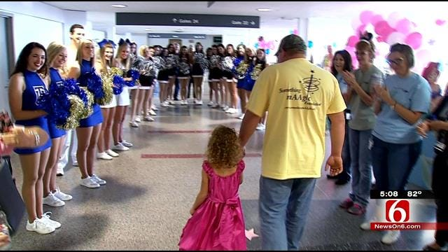 Poteau 6 Year Old With Life-Threatening Illness Gets Disney Trip