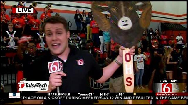Tulsa Tech Spirit Stick Season 4 - Booker T Washington High School