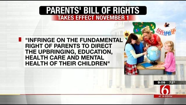 Broken Arrow Schools Propose 'Parents' Bill Of Rights'