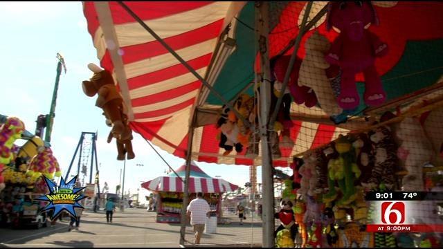 Deputies Making Sure Carnies Play Fair At Tulsa State Fair