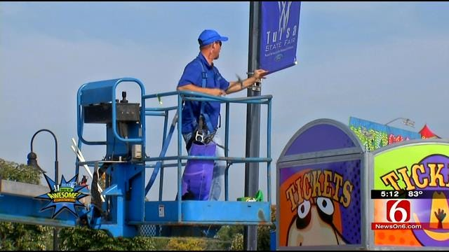 One Man Responsible For Signs At Tulsa State Fair