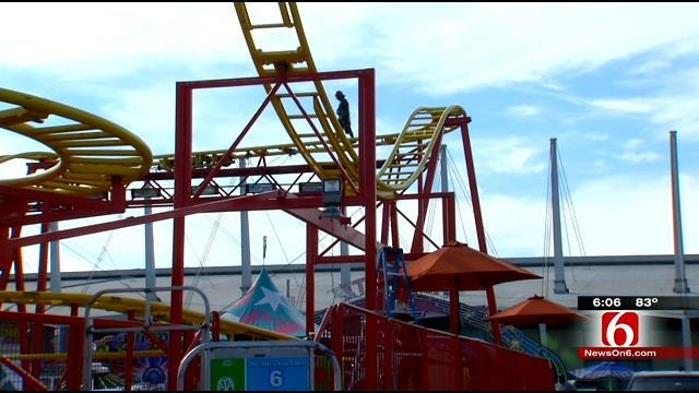 Safety First: Inspectors Check Tulsa State Fair Rides