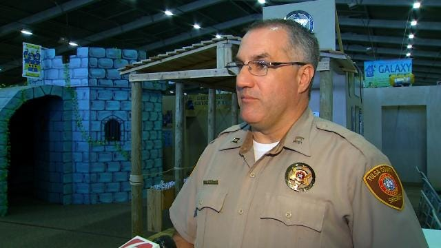 WEB EXTRA: Tulsa County Sheriff's Captain Billy McKelvey Talks About Kid Safety At The Fair