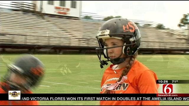 Female Kickers At Sperry And Coweta Blazing A Trail