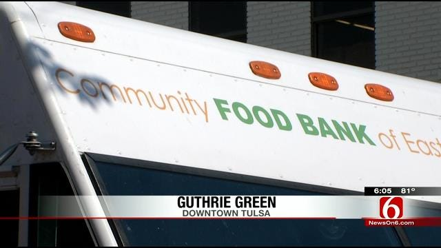 Food Bank Food Truck Joins In At Food Truck Wednesday