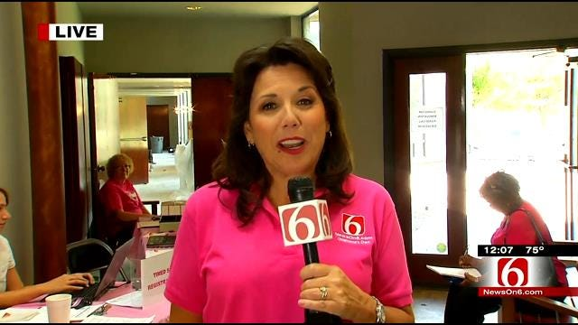 Final Preps For Tulsa's Race For The Cure