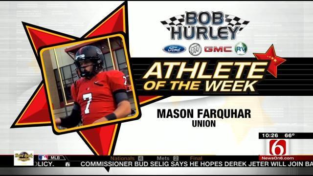 Athlete Of The Week: Union QB Mason Farquhar