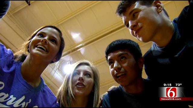 Porum Students Hold 'Sports Day' For Students With Special Needs