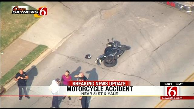 Motorcyclist Dead After Being Hit By Car In Tulsa