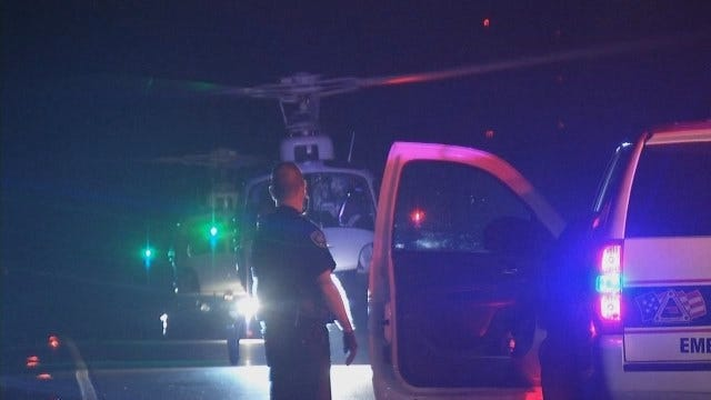 WEB EXTRA: Video From Scene Of Fatal Wagoner County Crash