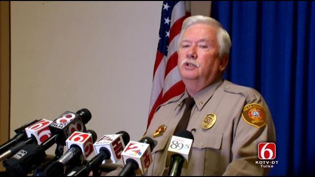 WEB EXTRA: Tulsa County Undersheriff Tim Albin's Statement On Deputy Arrest