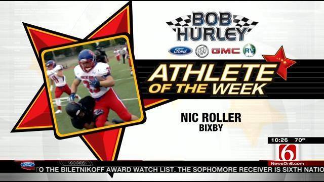 Athlete Of The Week: Bixby Running Back Nic Roller