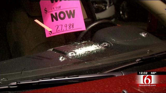 Police: Man Used Belt Buckle To Break Windows At Six Tulsa Car Lots
