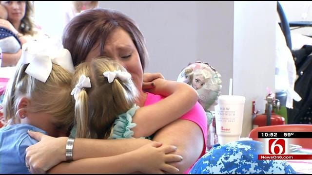 Group Throws Birthday Party For Fallen Oklahoma Soldier's Daughter