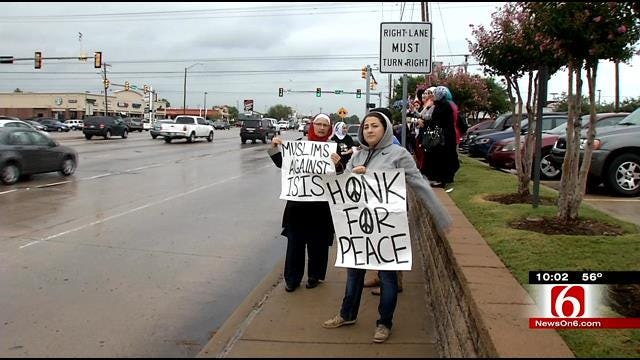Tulsa Muslims Support US Actions Against ISIS