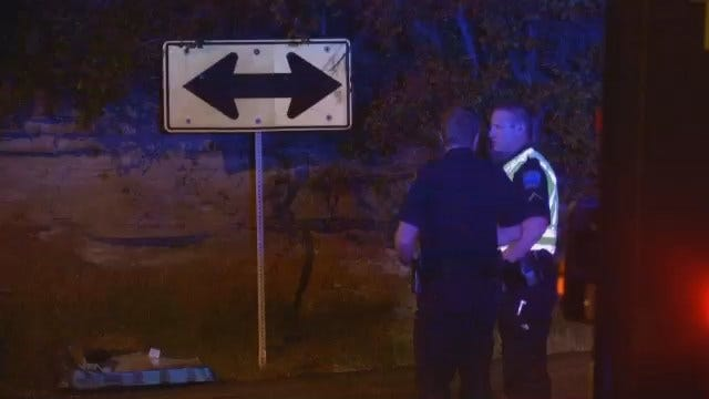 WEB EXTRA: Video From Scene Of Crash At Pine And Gilcrease Museum Road