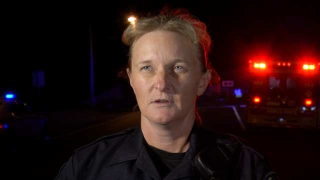 WEB EXTRA: Tulsa Police Cpl. Tami Manz Talks About Fatal Crash