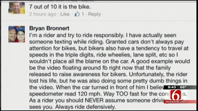 OK Talk: Have You Seen Bikers Doing Dangerous Things On The Road?