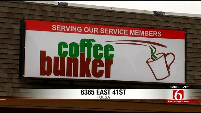 Coffee Bunker Grand Opening Makes A Splash With Veterans