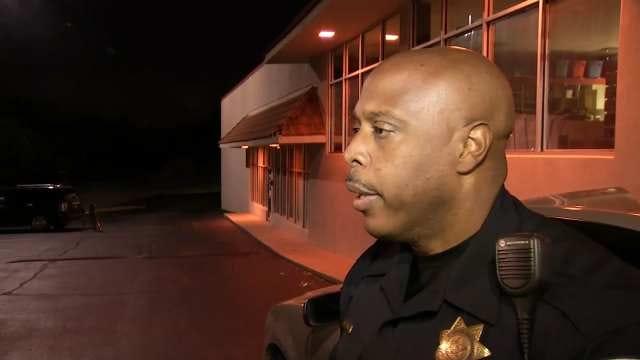 WEB EXTRA: Tulsa Police Officer Leland Ashley Talks About Missing Teen