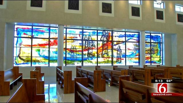 Stained Glass Window Lifts Spirits At St. Francis Trauma Center Chapel