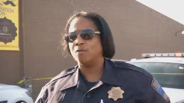 WEB EXTRA: Tulsa Police Officer Denita Kinard Talks About The Shooting