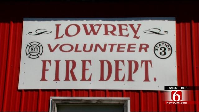 Thief Steals Truck, Equipment From Cherokee County Fire Station