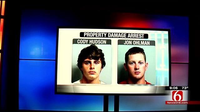 Two Men Arrested For Spraying Doe Urine In Owasso Walmart