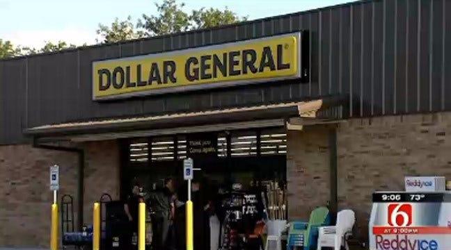 Robber Fires Gun While Robbing East Tulsa Dollar General