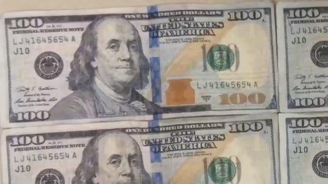 Oklahoma Man Spots 'Funny Money' During Car Sale