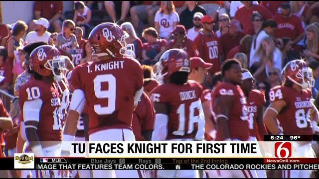 TU Prepares For Trevor Knight