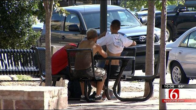 Four Tulsa Police Officers Begin Special Duty Due To Aggressive Panhandling