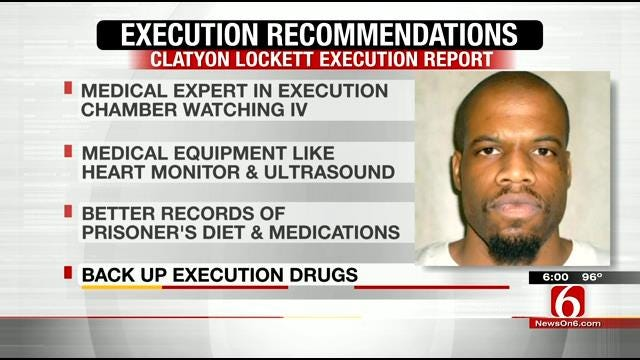 DPS Gives Suggestions To Improve Oklahoma's Execution Process