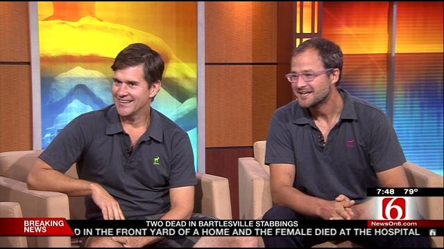 Amazing Race's Beekman Boys Visit 6 In The Morning