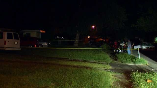 WEB EXTRA: Video From Scene Of Bartlesville Fatal Stabbings