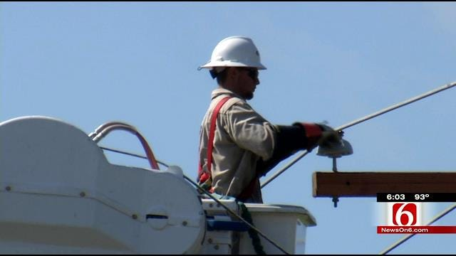 Number Of PSO Customers Still Without Power In Bartlesville Decreasing