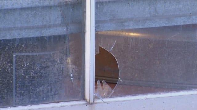 WEB EXTRA: Burglars Damage Hibdon Tire In Tulsa