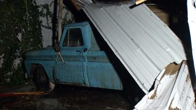 WEB EXTRA: Video Of Storm Damage In Bartlesville