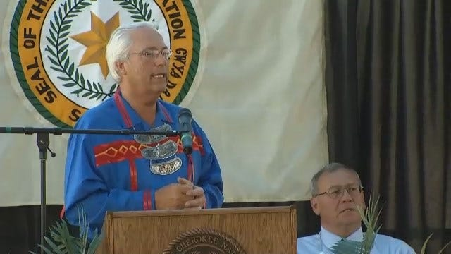 WEB EXTRA: Cherokee Principal Chief Gives State Of The Nation Address