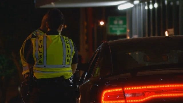 WEB EXTRA: TPD DUI Checkpoint
