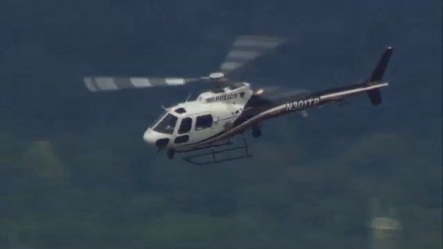 WEB EXTRA: Tulsa Police Fly New Helicopter
