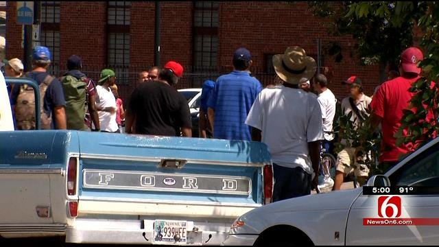Tulsa Leaders Look For Solution To Aggressive Homeless Minority