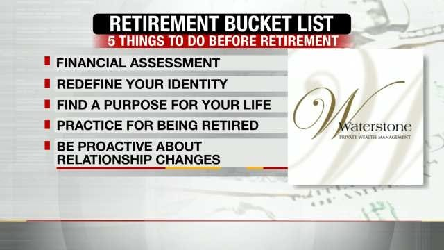 Tips For Preparing Your Retirement 'Bucket List'