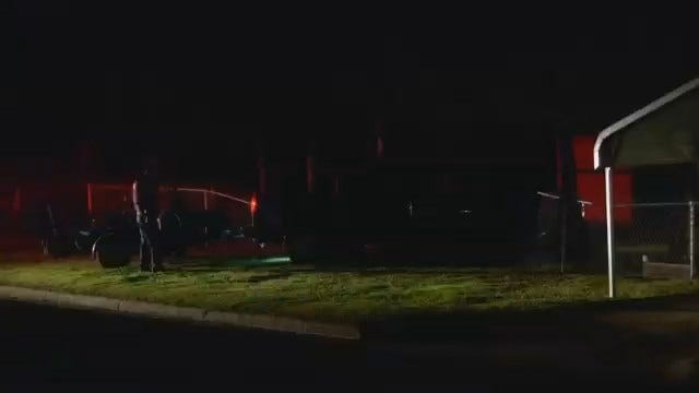 WEB EXTRA: Video From Scene At End Of OHP Chase In Tulsa