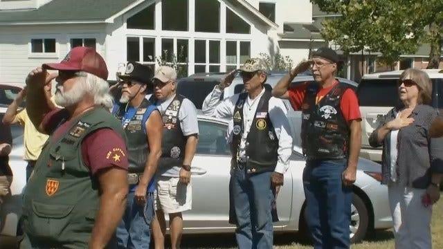 Broken Arrow Veteran, Family Receive Mortgage-Free Home