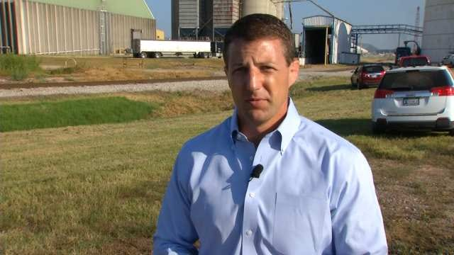 WEB EXTRA: Congressman Markwayne Mullin Talks About The Importance Of The Port Of Catoosa
