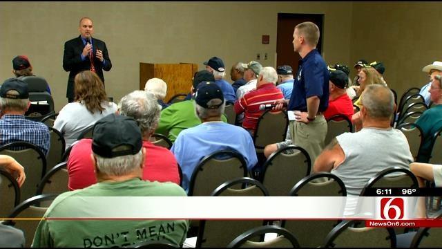 Oklahoma Veterans Address V.A. Leaders